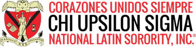 Corazones Unidos Siempre Chi Upsilon Sigma National Latin Sorority, Inc